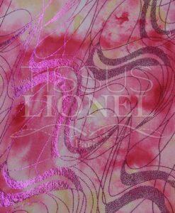 lycra printed glittery 021 LIP
