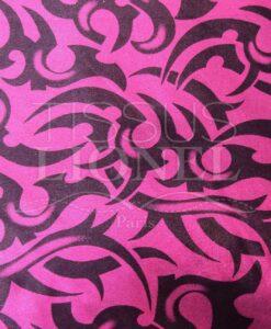 lycra printed glittery 053
