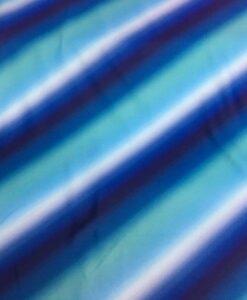 Lycra printed folded effect