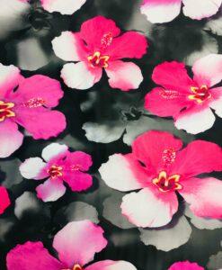 Lycra imprimé fleurs