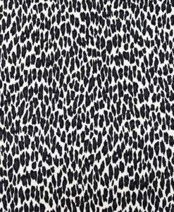 Lycra imprimé leopard blanc