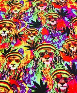Lycra stampato Marley
