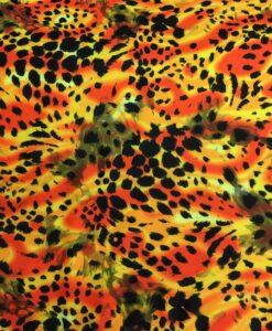Lycra gedrukte wild Panther