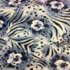 Lycra imprimé peinture fleuris