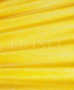 Lycra con lentejuelas de color amarillo diamontine