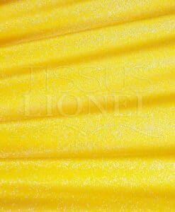 lycra pailleté diamontine jaune