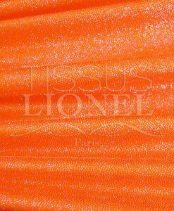 Lycra блестками оранжевый diamontine