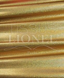 Lycra sequined multi-series 1 gold background glitter hologram or