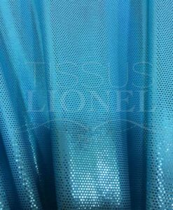Lycra sequined turquoise light turquoise glittery background