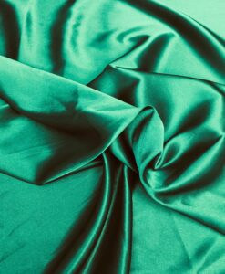 green satin Lycra