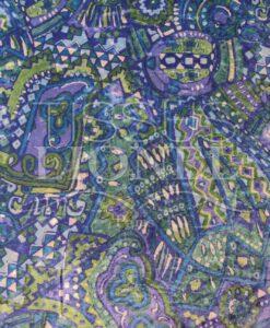 Lycra gedruckt velvet 008
