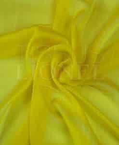 veranderen chiffon twee gele lijnen