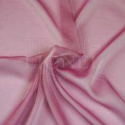 mousseline changeante deux files rose et blanc