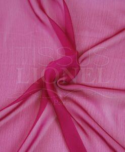 Ändern Chiffon zwei rosa Linien und fuchsia