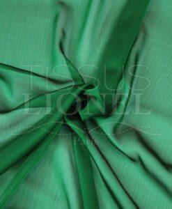 veranderende mousseline twee rijen groen en zwart