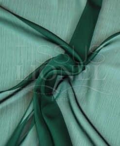 veranderende mousseline twee rijen groene spar