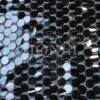Chiffon mit Pailletten schwarz Pailletten schwarzen Hintergrund