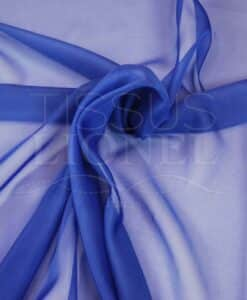 royal blue chiffon united