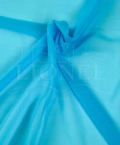 clear turquoise plain muslin
