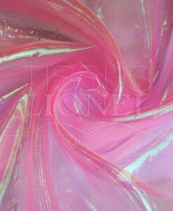 organza erisé rose