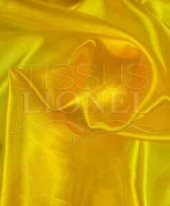 organza uni bouton d'or