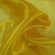 organza uni or jaune