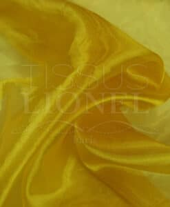 organza plain yellow gold