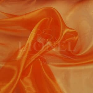 organza uni orange