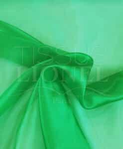 Organza Ebene grün