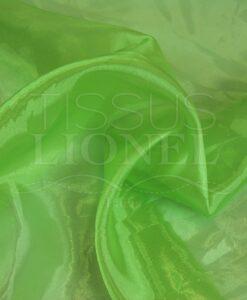 organza uni vert anis
