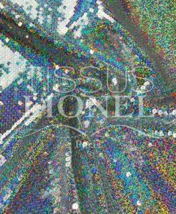 блестящая серебро голограммы голограмма США