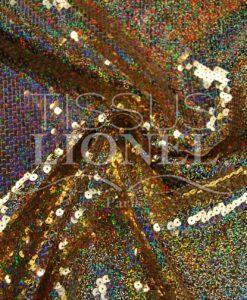 pailleté hologramme américain or hologramme