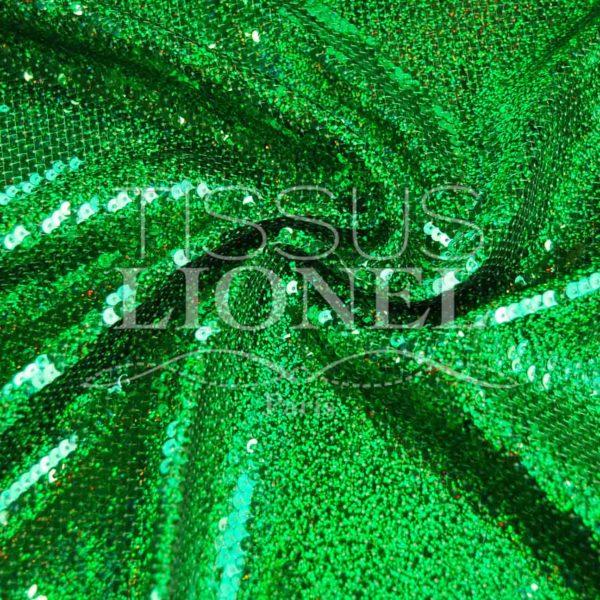 pailleté hologramme américain vert hologramme