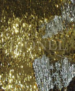 magical glittery gold and silver