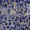 pailleté puzzle bleu et beige