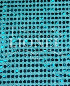 pailleté uni fond turquoise pailleté turquoise
