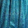 panne de velour pailleté hologramme fond turquoise pailleté argent hologramme
