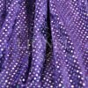 panne de velour pailleté hologramme fond violet pailleté argent hologramme