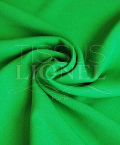 polyester toille uni vert brazil