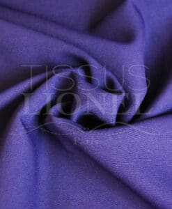 polyester toille uni violet
