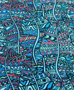 Popeline de coton style africain badou 3