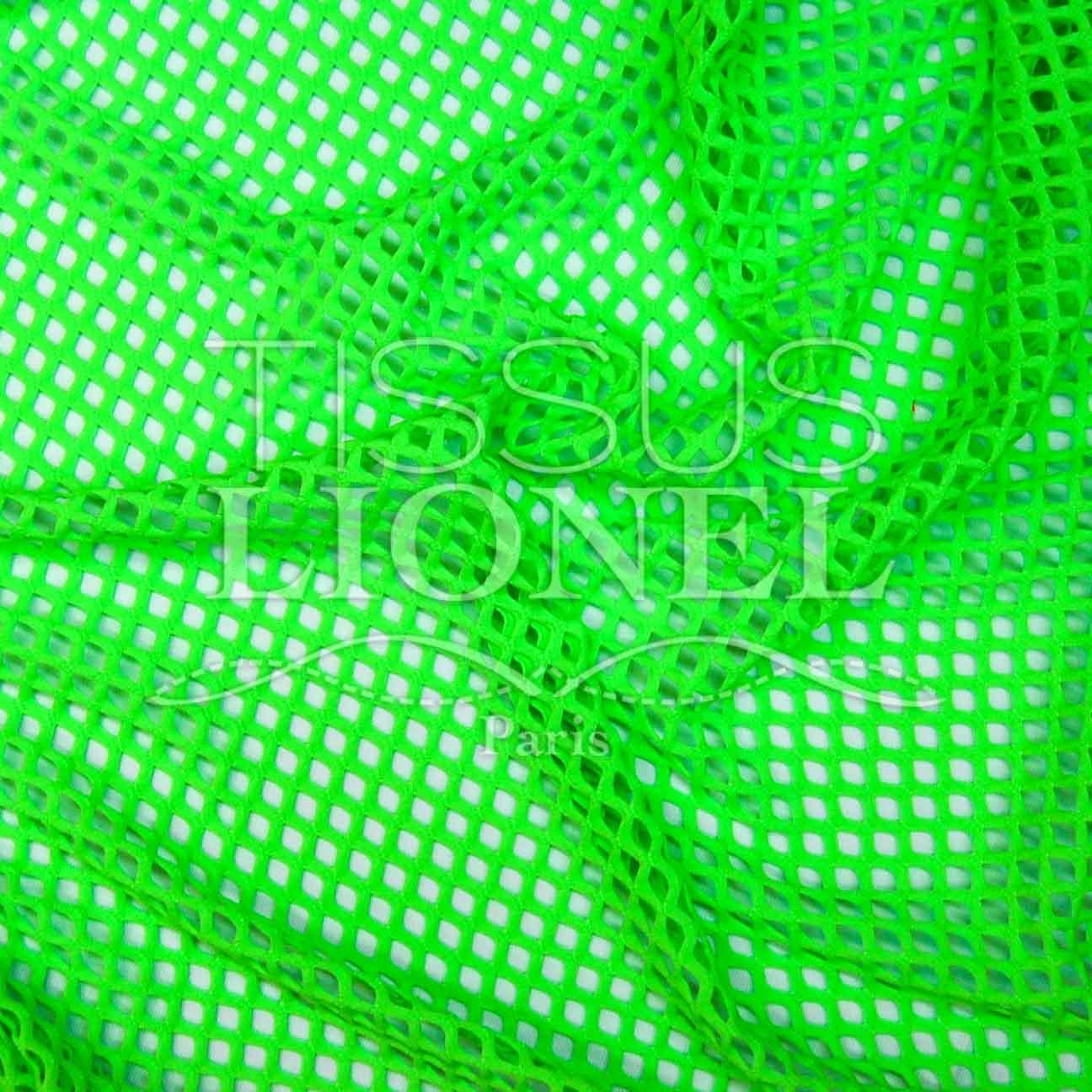 Lycra maglia mesh grezza