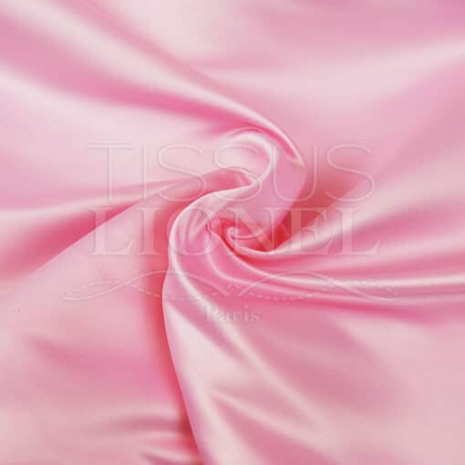 satin duchesse rose pale