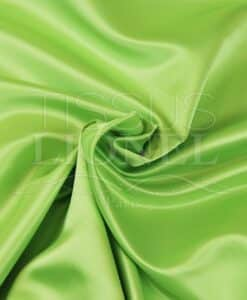Duchess satin green anise