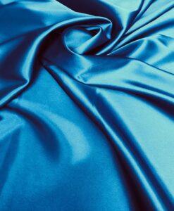 Satin Lycra blauwe eend