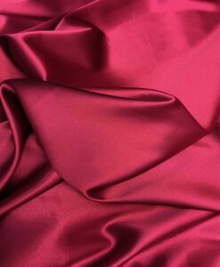 Satin lycra bordeaux