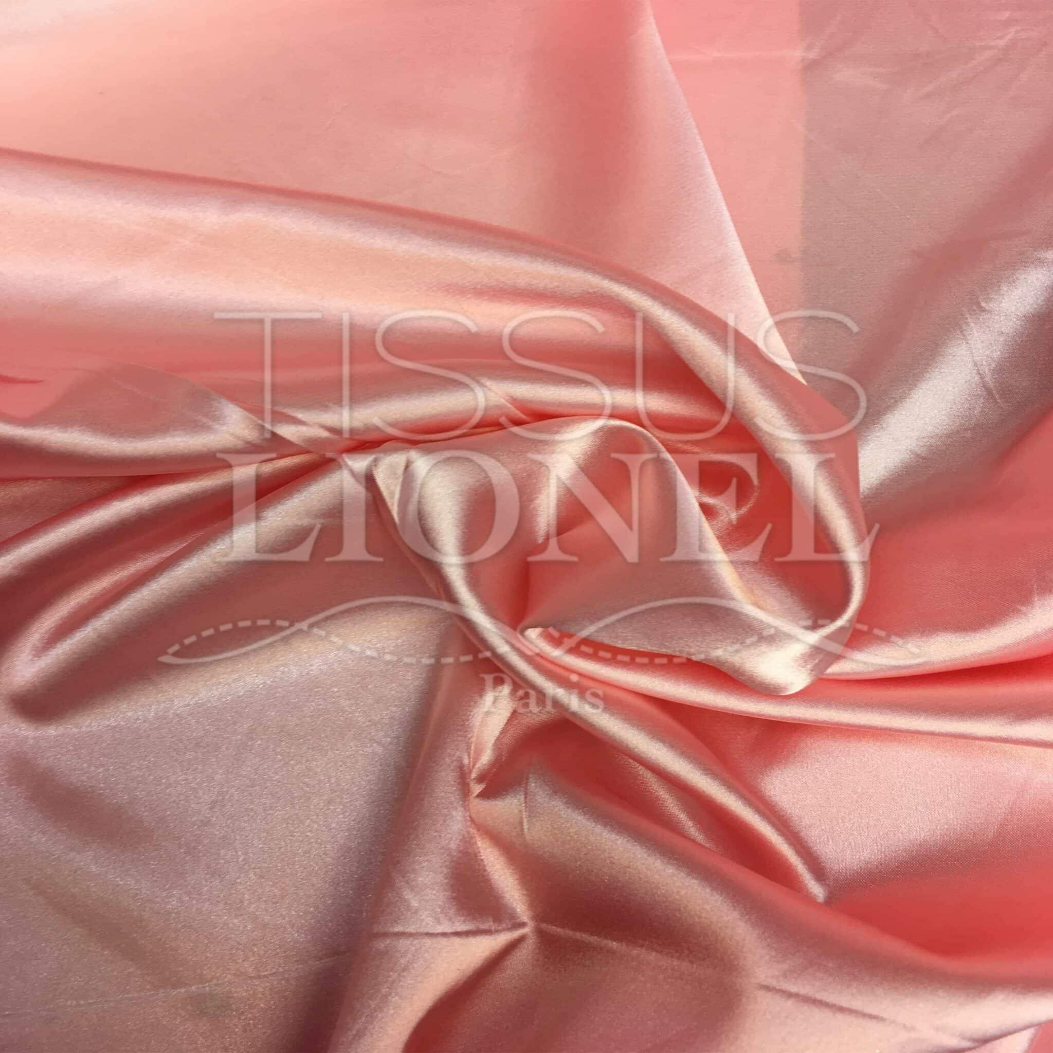 Per Metre Multi Coloured Harlequin Diamonds Satin Fabric Pinks