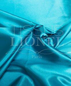 turquoise satijnen lycra