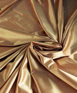 Raso oro maglia charmeuse