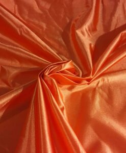 Satin maille charmeuse orange